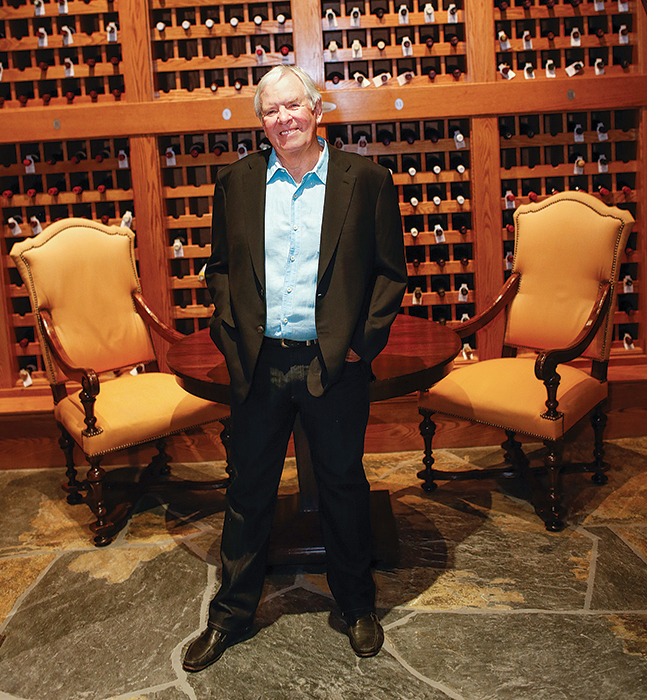 Bill Foley at Foley Family Wines in California