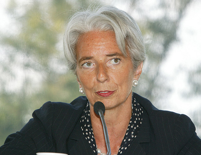 Christine Lagarde: Managing Director, International Monetary Fund