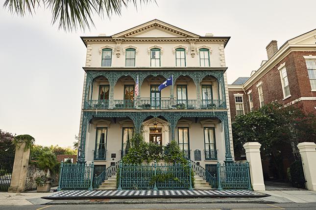 John Rutledge House Inn exterior, a landmark on Broad Street. Photo courtesy of Explore Charleston, ExploreCharleston.com