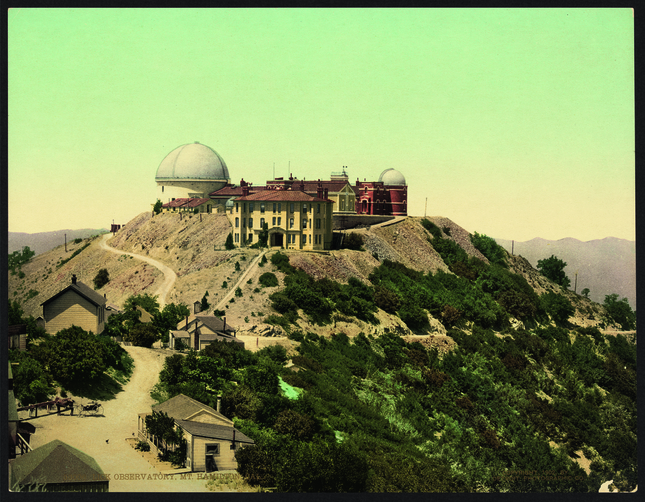 Lick Observatory in Mount Hamilton, Calif